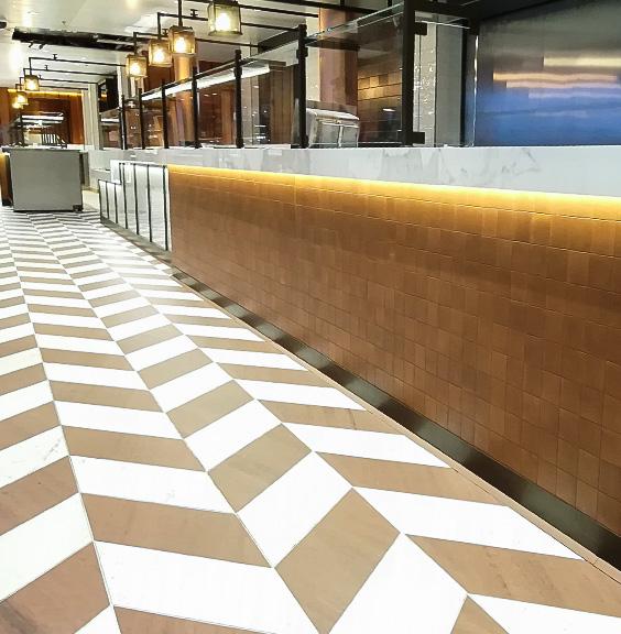 Floor coverings (tiles, parquet, laminate, vinyl, carpets)