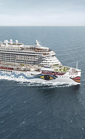 "Cruise vessel ""AIDA Prima"""