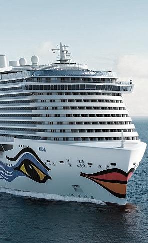 "Cruise vessel ""AIDA Nova"""