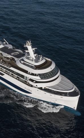 """Cruise vessel """"Celebrity Flora"""""""
